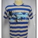 T Shirt Long Board Listrada (Ciinza/Azul) Lapa 40
